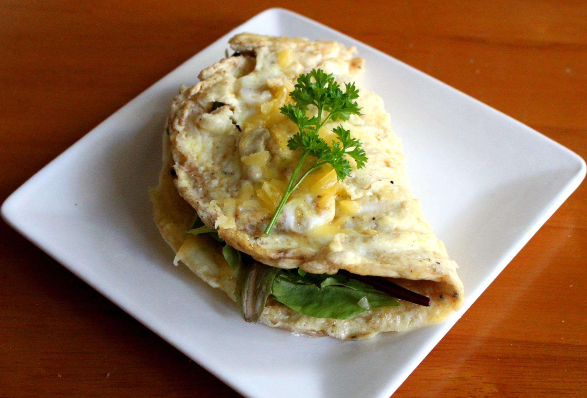 egg omelette - photo #5